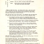 Meeting Announcement for 10/24/1965, Community Council on Social Progress, 2 pages.