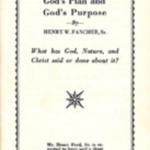 """Booklet, """"Segregation: God's Plan and God's Purpose,"""" 1954"""
