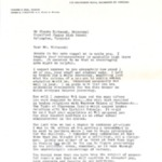 Letter from Howard Paul, Minister of Trinity Presbyterian Church in Richmond Virginia, February 3, 1959