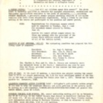 Newsletter, Community Council for Social Progress, 5/1965, 2 pages.