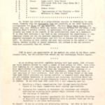 Newsletter, Community Council for Social Progress, 11/1964, 2 pages.