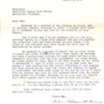 Letter from Helen do Carmo and Enclosed Newspaper Article, March 25, 1959