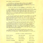 Letter from the Committee of Mothers of the Madison Precinct