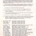Letter to All Arlington Citizens from interim Organizing Committee to Preserve Public Schools, May 11, 1958.