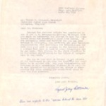 Letter from L. J. Patterson (?) April 20, 1959