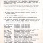 "Flyer: ""To All Arlington Citizens"": announcing the formation of the ""interim Organizing Committee to Preserve Public Schools"", May 11, 1958."