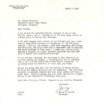 Letter from Jerry J. Gerich, Principal of Grosse Pointe High School, Michigan, and Enclosed Article from Detroit Paper April 7, 1959